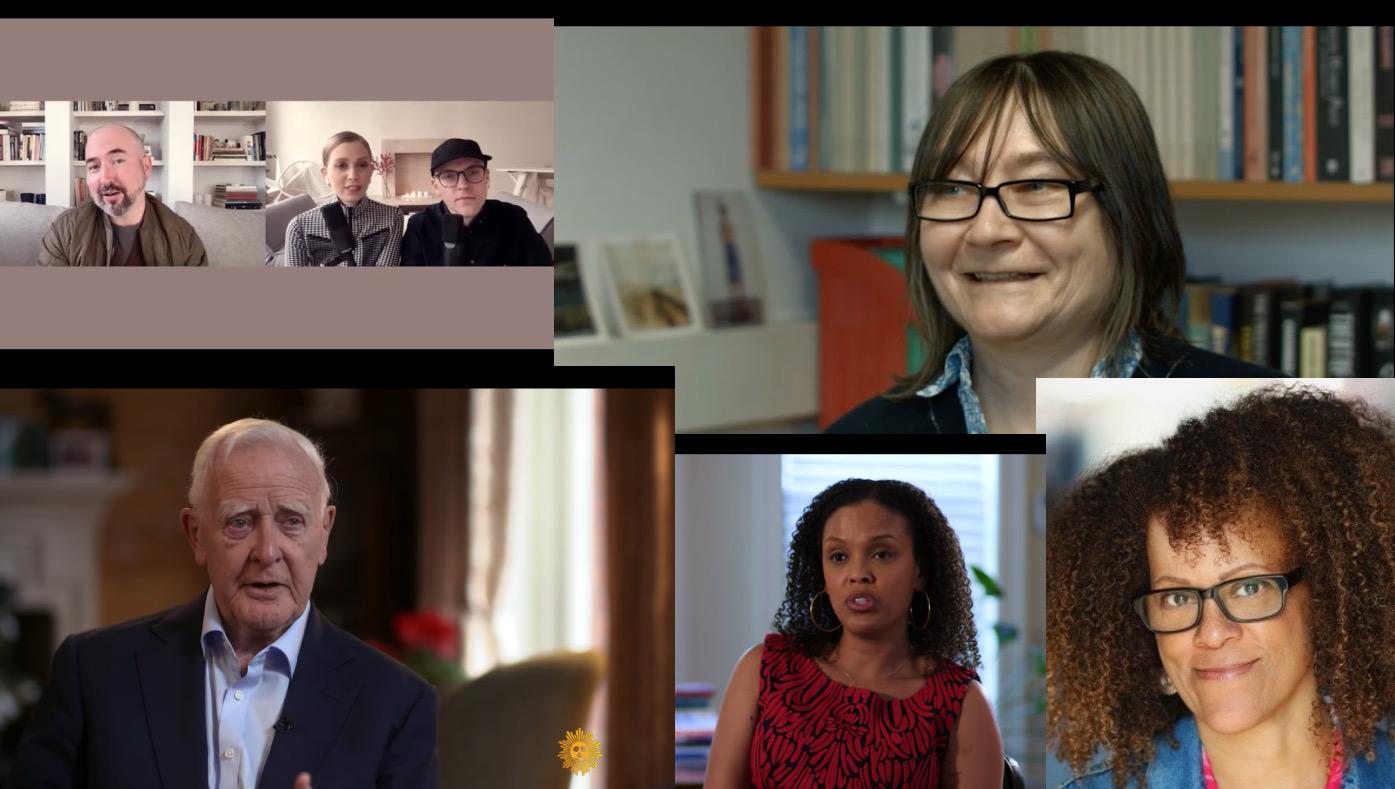le carre, ali smith, jesmyn ward i douglas stuart w wywiadach wideo